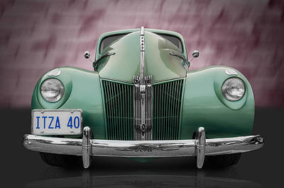 Photograph - 1940 Ford by Frank J Benz