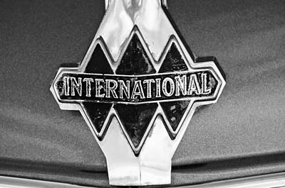 Photograph - 1940 International Emblem by Jill Reger
