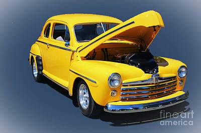 Christmas Cards - 1940s Ford Coupe by Steven Baier