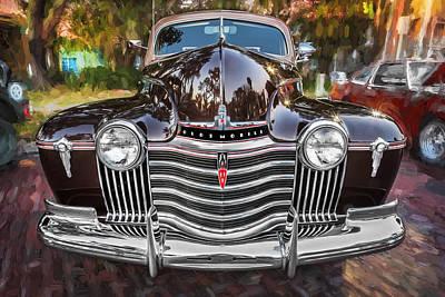 1941 Oldsmobile Hydramatic Sedan Painted  Art Print by Rich Franco