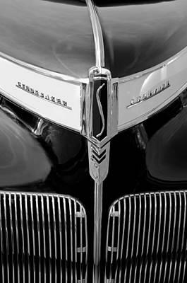 Photograph - 1941 Studebaker Champion Hood Emblem by Jill Reger