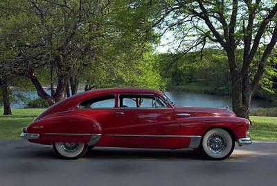 Photograph - 1946 Buick Super Sedanette Coupe by Tim McCullough