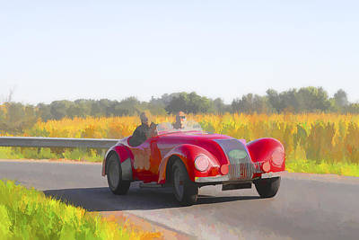 Photograph - 1947 Allard K1 Roadster by Jack R Perry