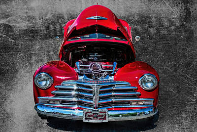 Photograph - 1948 Chevy 2100 Fk Fleetmaster by Lesa Fine