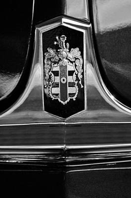 Photograph - 1948 Dodge D24 Club Coupe Emblem by Jill Reger