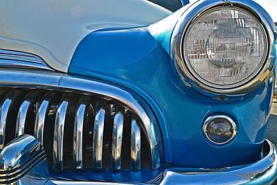 Still Life Photograph - 1949 Buick Super 8 Grill by Bill Owen