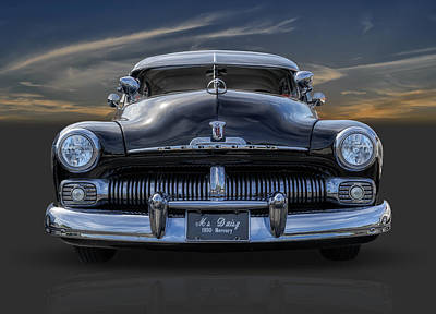 Photograph - 1950 Mercury by Frank J Benz