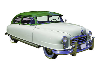 Photograph - 1950 Nash Ambassador Car by Keith Webber Jr