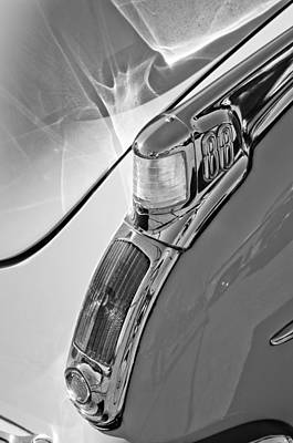 Photograph - 1950 Oldsmobile Rocket 88 Taillight by Jill Reger