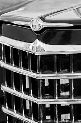 Photograph - 1950 Willys Jeepster Grille Emblem by Jill Reger