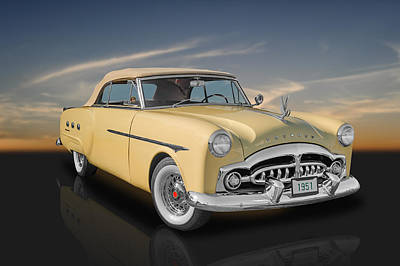 Photograph - 1951 Packard Ultramatic Convertible by Frank J Benz
