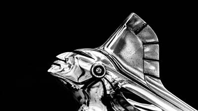 Photograph - 1951 Pontiac Silver Streak Hood Ornament by Randy Scherkenbach