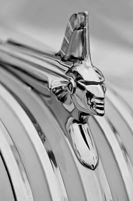 Photograph - 1951 Pontiac Streamliner Hood Ornament by Jill Reger