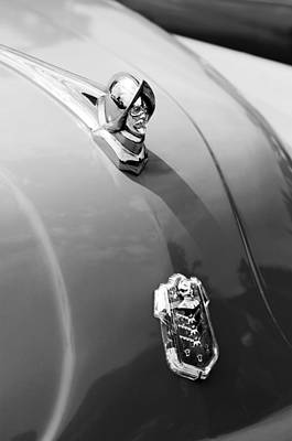 Photograph - 1952 Desoto Hood Ornament - Emblem by Jill Reger