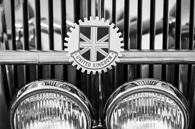 Photograph - 1952 Mg Replica Grille Emblem by Jill Reger