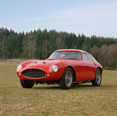 Historic Car Photograph - 1953 Ferrari 250 Mille Miglia by Panoramic Images