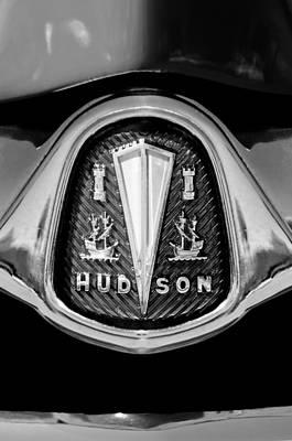 Photograph - 1953 Hudson Hornet Emblem by Jill Reger