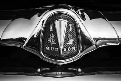 Photograph - 1953 Hudson Hornet Sedan Emblem by Jill Reger