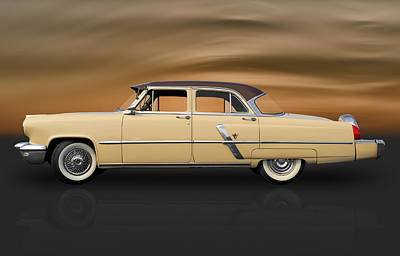 Photograph - 1953 Lincoln Sedan by Frank J Benz