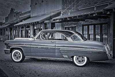 Ancien Photograph - 1953 Mercury Monterey En Francais by David Morefield