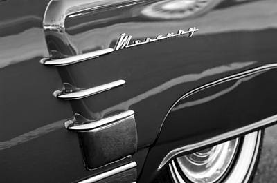 Photograph - 1953 Mercury Monterey Wheel Emblem by Jill Reger