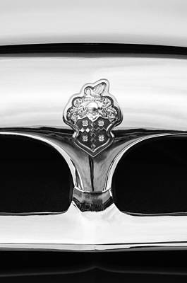 1953 Packard Clipper Deluxe Sedan Grille Emblem Art Print by Jill Reger