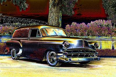 Photograph - 1954 Chevrolet Sedan Delivery by Tim McCullough