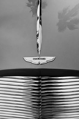 Photograph - 1955 Aston Martin Grille Emblem by Jill Reger