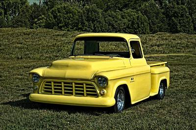 Photograph - 1955 Chevrolet Pickup Truck by Tim McCullough