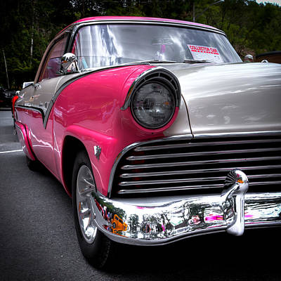 Photograph - 1955 Ford Fairlane Crown Victoria 2 Door Hard Top  by David Patterson