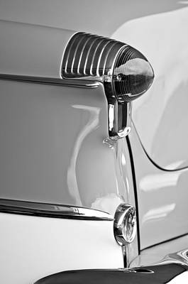 Photograph - 1955 Oldsmobile Taillight by Jill Reger