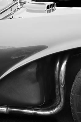 1956 Aston Martin Db3s Fixed Head Coupe  Art Print by Jill Reger