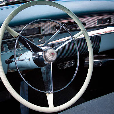Blue Buick Photograph - 1956 Buick Century by David Patterson