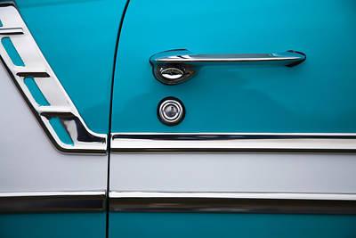 Chevy Bel Air Photograph - 1956 Chevrolet Bel Air by Carol Leigh