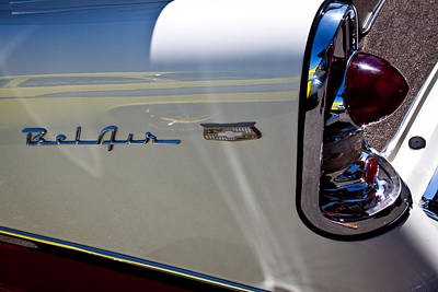Chevy Bel Air Photograph - 1956 Chevy Bel Air Custom Hot Rod by David Patterson