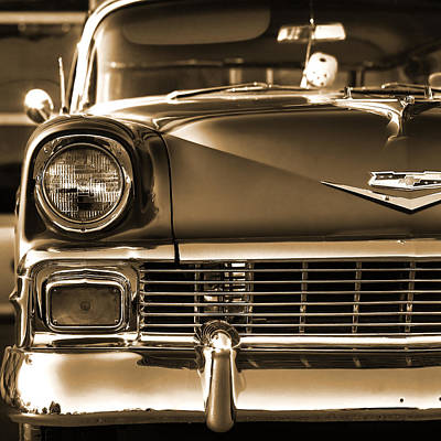 Men Photograph - 1956 Chevy Bel Air by Gordon Dean II