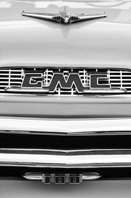 100 Photograph - 1956 Gmc 100 Deluxe Edition Pickup Truck by Jill Reger
