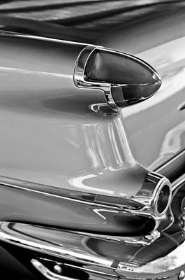 Photograph - 1956 Oldsmobile Taillight by Jill Reger