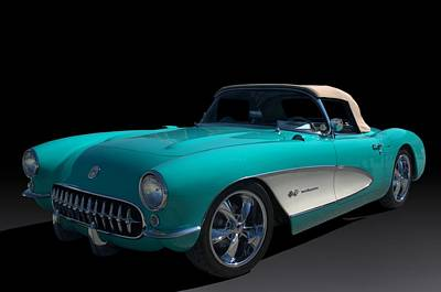 Photograph - 1957 Corvette by Tim McCullough