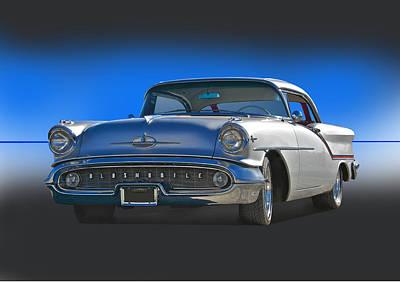 1957 Custom Oldsmobile Print by Dave Koontz