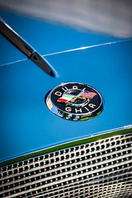 1957 Dual Ghia Sport Emblem Art Print