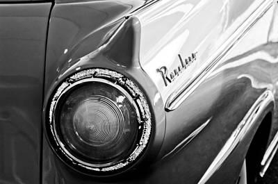 1957 Ford Ranchero Pickup Truck Taillight Art Print by Jill Reger
