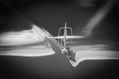 Photograph - 1957 Lincoln Continental Hood Ornament by Jill Reger
