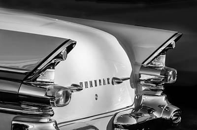 Photograph - 1957 Pontiac Star Chief Hardtop Taillight -1075c by Jill Reger