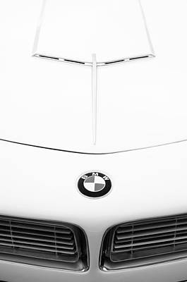 Photograph - 1958 Bmw 507 Roadster Hood Emblem by Jill Reger