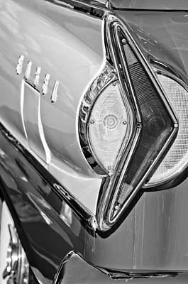 Photograph - 1958 Edsel Wagon Tail Light by Jill Reger