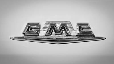 Photograph - 1958 Gmc Suburban Emblem by Jill Reger