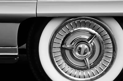 Photograph - 1958 Oldsmobile 98 Wheel by Jill Reger