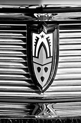 Photograph - 1958 Oldsmobile Emblem by Jill Reger