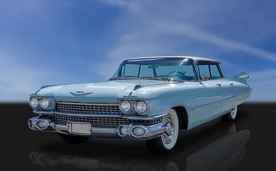 Photograph - 1959 Cadillac Sedan Deville Flat Top - Series 62 by Frank J Benz
